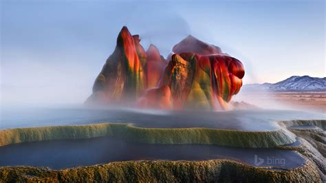 Fly Ranch Geyser Wallpapers | HD Wallpapers | ID #13989