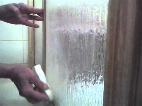 How To Clean Glass Shower Doors & Remove Rust Stains and
