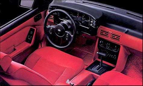 Timeline: 1989 Mustang - The Mustang Source