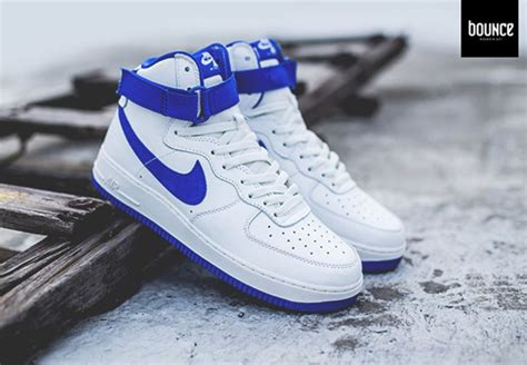 The Next Remastered Nike Air Force 1 High is White and
