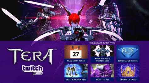 Twitch Prime members can play TERA on PS4 and Xbox One