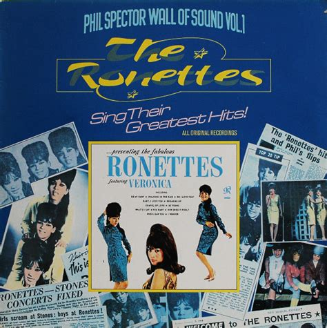 The Ronettes - The Ronettes Sing Their Greatest Hits (1975