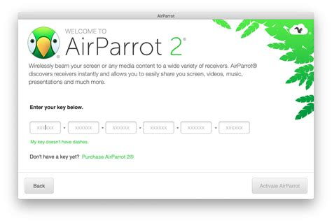 My license key doesn't work : AirParrot 3