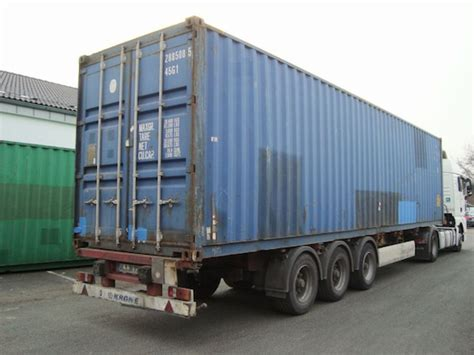 40-Fuß High-Cube Überseecontainer, Lagercontainer