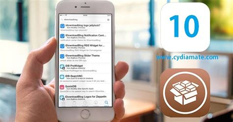 My Cydia Journal: What is all new around Cydia iOS 10