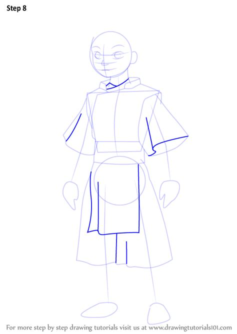 Learn How to Draw Toph Beifong from Avatar The Last