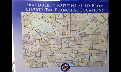 Liberty Tax Franchise Owner, Employees Allegedly Filed