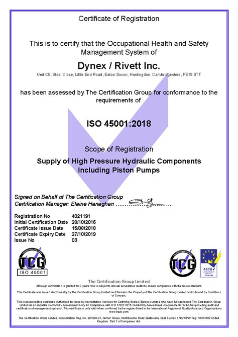 Quality Certifications, ISO 9001:2015 | Dynex