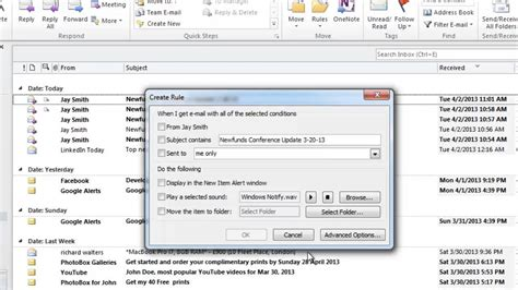 How to Create Spam Filter in Microsoft Outlook - YouTube