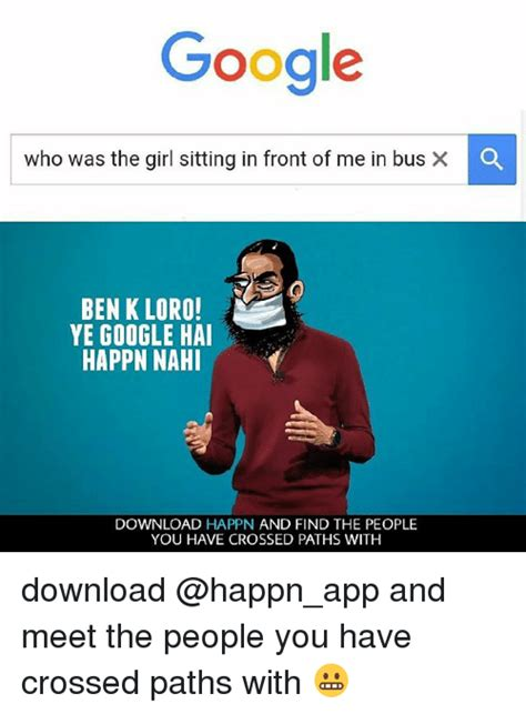 Google Who Was the Girl Sitting in Front of Me in Bus BEN