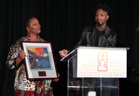 21 Savage Says Young Immigrants Should Be Given Automatic