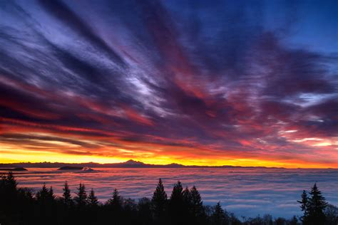 Sunrise over Vancouver   Flickr - Photo Sharing!